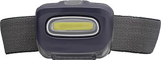 ZIKO Čelovka s 8 silnými LED, černá