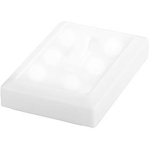 KOVALU LED světlo na baterie, design vypínače, bílé