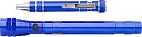 REDMAN Sada teleskopické baterky a malého nářadí, modrá