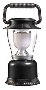 KVADRO Plastové kempinkové světlo s LED diodami, černé