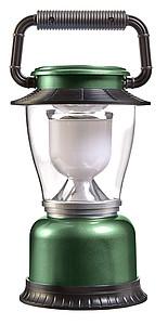 KVADRO Plastové kempinkové světlo s LED diodami, zelené
