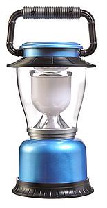 KVADRO Plastové kempinkové světlo s LED diodami, modré