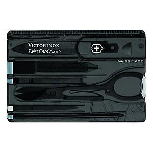 VICTORINOX SWISSCARD CLASSIC, černá