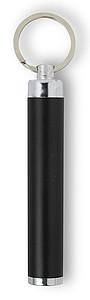 Kapesní svítilna se speciálním povrchem, černá