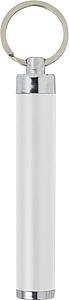 Kapesní svítilna se speciálním povrchem, bílá