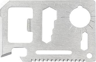 Multifunkční nástroj z nerezové oceli s 11funkcemi