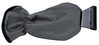 Autoškrabka, polyester, fleece, šedá