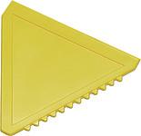 ŠKRABKA Plastová autoškrabka, žlutá
