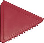 ŠKRABKA Plastová autoškrabka, červená