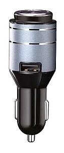 SILA 2 v 1 Bluetooth handsfree mono sluchátko s magnetickým uchycením a USB autoadaptér