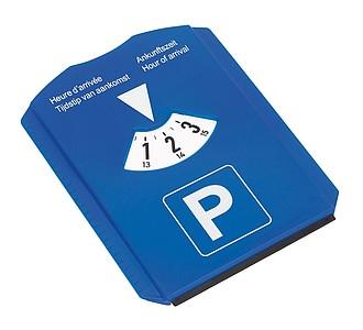 Parkovací hodiny s autoškrabkou