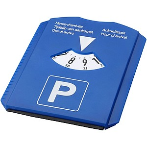 Multifunkční parkovací hodiny, světle královská modrá