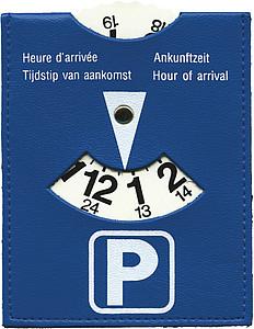 SANREMO Parkovací kotouček - hodiny