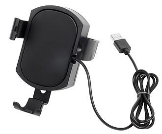 Plastový držák mobilního telefonu, černá