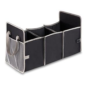 ROMON Organizér do kufru auta, 3 přihrádky, skládací, černý
