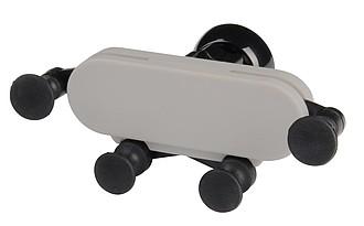 Variabilní držák na telefon do auta, černá, šedá
