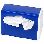 Autodržák na odpadkové sáčky, bílá, královská modrá