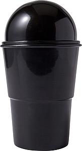 Miniaturní odpadkový koš do přihrádky na pití v autě