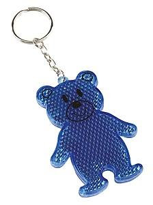BOBO přívěšek medvídek odrazka, modrá