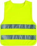 Dětská bezpečnostní vesta, žlutá