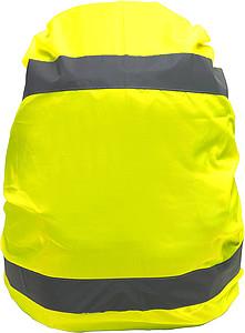 REMBA Vysoce viditelný obal na batoh s reflexními pruhy, žl.