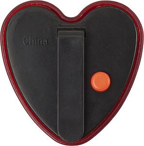 Blikající odrazka ve tvaru srdce