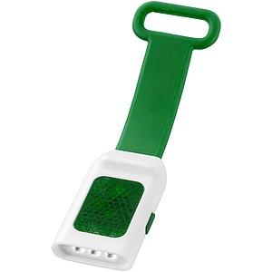 SALIK Bezpečnostní světlo se 3 LED diodami, tmavě zelená