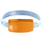 RADUSA Světelný náramek s LED světlem, oranžová