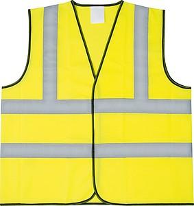 Bezpečnostní vesta, žlutá