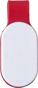 BLAZE Bezpečnostní světýlko se silikonovým páskem, červené