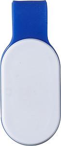 BLAZE Bezpečnostní světýlko se silikonovým páskem, modré