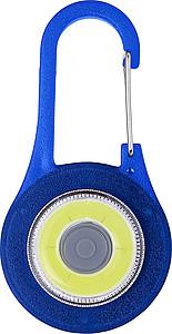 MENSILA Karabina se zabudovaným COB LED světlem, modrá