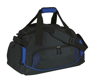 ANGORA sportovní taška s kapsou na boty, černá, modrá