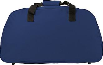 TOGO Sportovní cest. taška na rameno s reflexními proužky, modrá