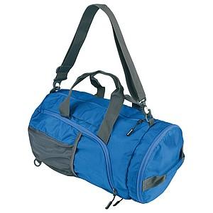 SCHWARZWOLF BRENTA skládací taška/batoh, modrá