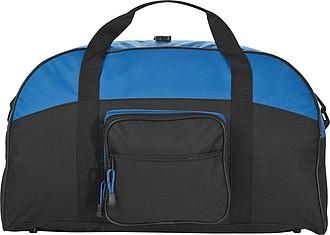 Velká sportovní taška z robustního polyesteru, modrá