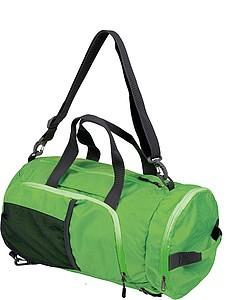 SCHWARZWOLF BRENTA skládací taška/batoh, zelená - reklamní bundy
