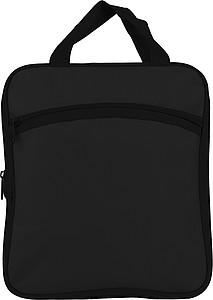 VALMEZ Skládací cestovní taška s bočními kapsami, černá
