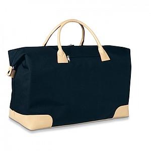 LEGANC Cestovní taška na rameno i do ruky, černá