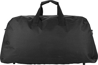STOKAVA Cestovní taška s vnější kapsou, černá