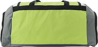KUVAJT Velká cestovní taška s koncovými kapsami, zelená