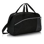 NIMBUS Sportovní taška, polyester 600D, černo/šedá