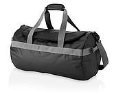 Voděodolná cestovní taška, černá