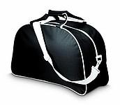 CESLIE Jednoduchá sportovní taška, černá