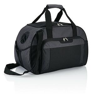 DRAVONA Lehká a odolná sportovní taška, šedá