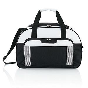DRAVONA DRAVONA Lehká a odolná sportovní taška, modrá/bílá
