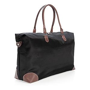 Víkendová cestovní taška, černá