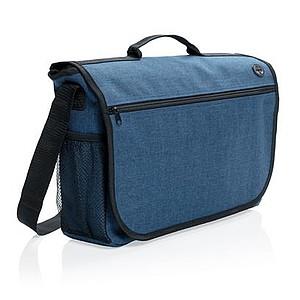 Módní taška přes rameno, modrá
