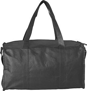 Sportovní taška z netkané textilie, černá