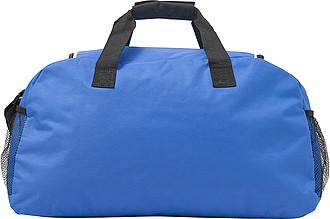 VERUNA Sportovní taška s přední kapsou na zip, modrá